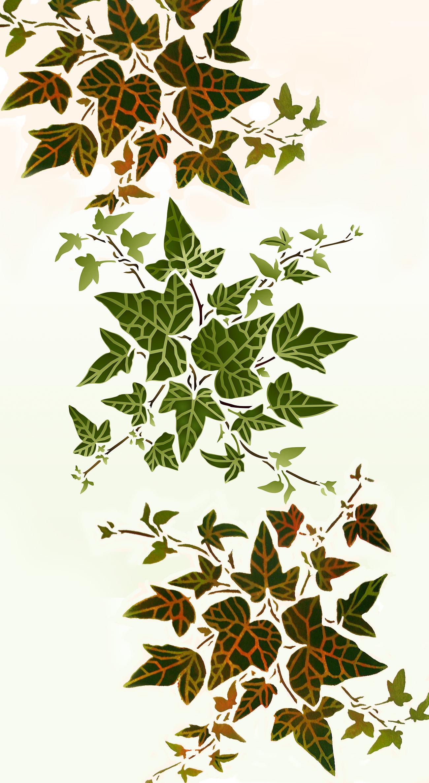 Little Ivy Stencil Henny Donovan Motif