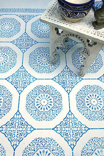 Moroccan Arabesque Stencil Henny Donovan Motif