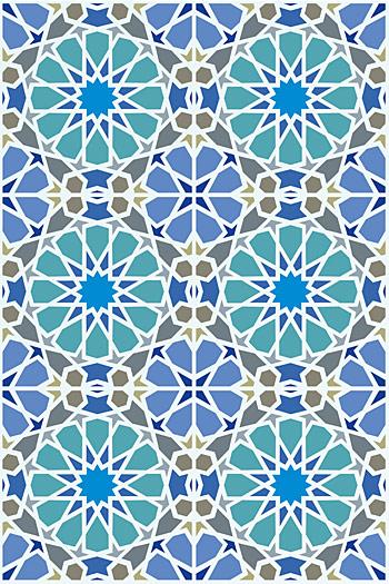 Classic Moroccan Stencil Henny Donovan Motif