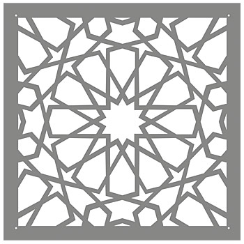 Peaceful image pertaining to free moroccan stencils printable