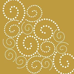 dotty swirls stencil henny donovan motif