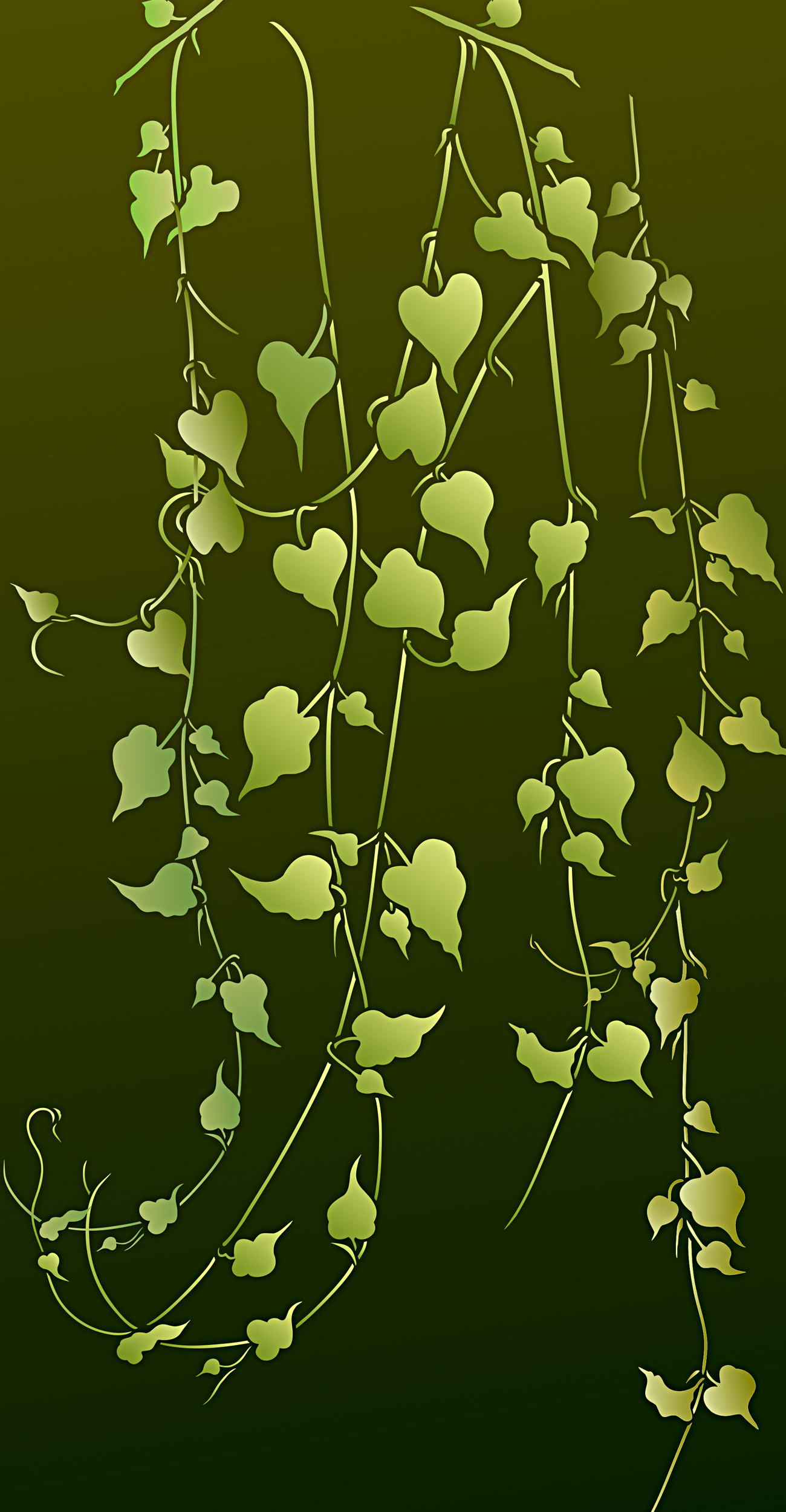 Large Garden Vine Stencil Henny Donovan Motif