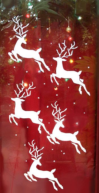 Christmas Stencils For Windows
