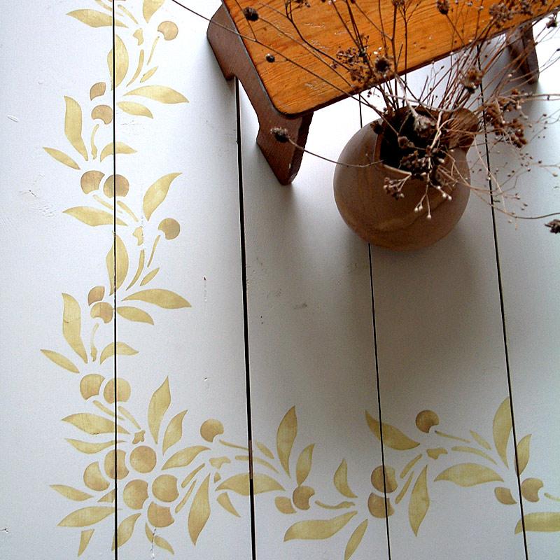 Botanical Border Stencils