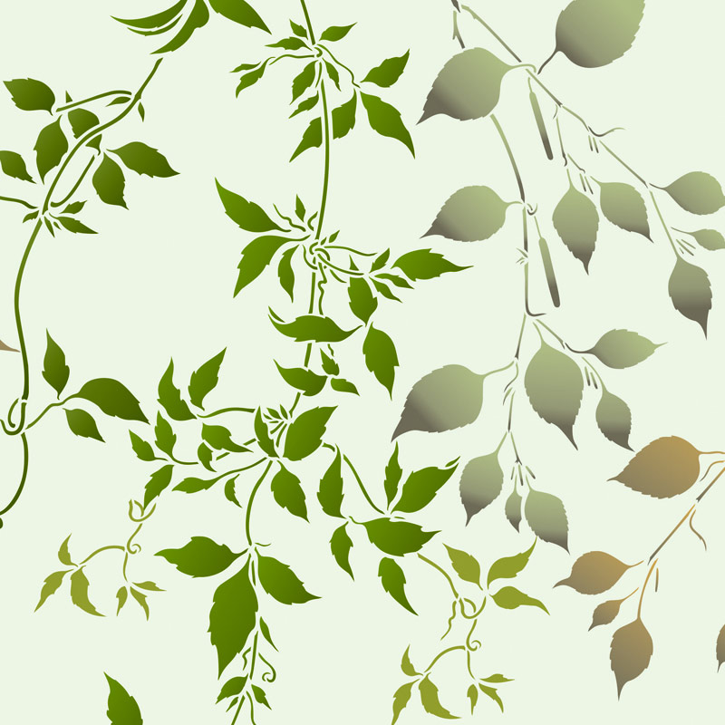 Botanical Stencils