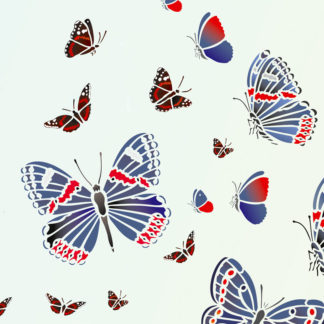 Butterfly & Bug Stencils