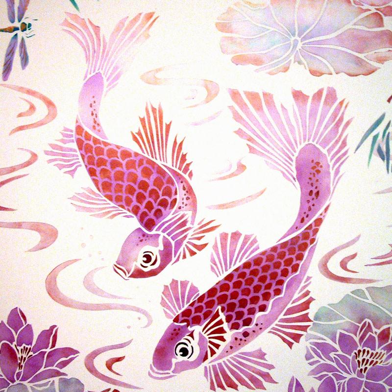 Fish Stencils