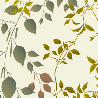 Leaves and Foliage Stencils