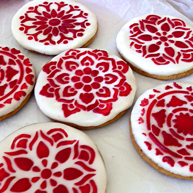 Cake, Cookie & Cappuccino Stencils