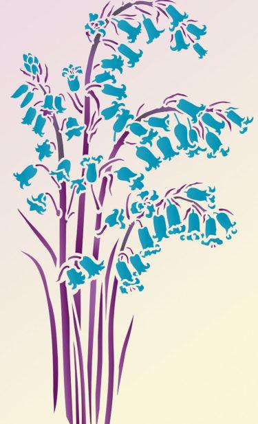 Bluebell-stencil-G8