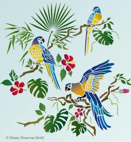 Parrot-theme-pack-stencil-G7B