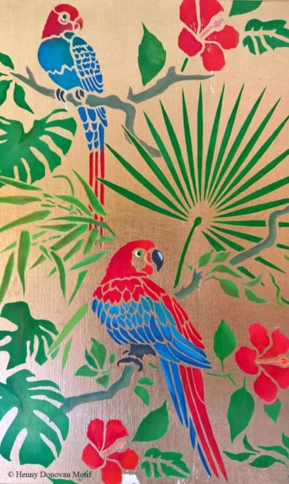Parrot-theme-pack-stencil-P1