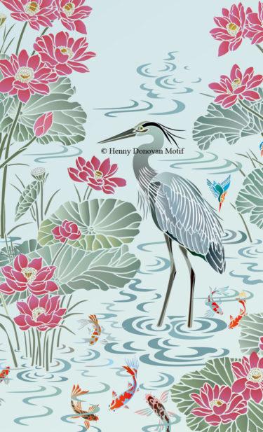 Heron-2-stencil-copyright-Henny-Donovan-Motif-G6