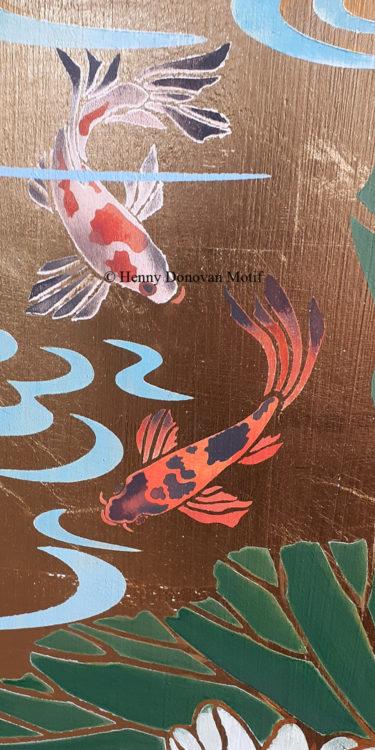 Japanese-Koi-Little-Stencil-copyright-Henny-Donovan-Motif-P2