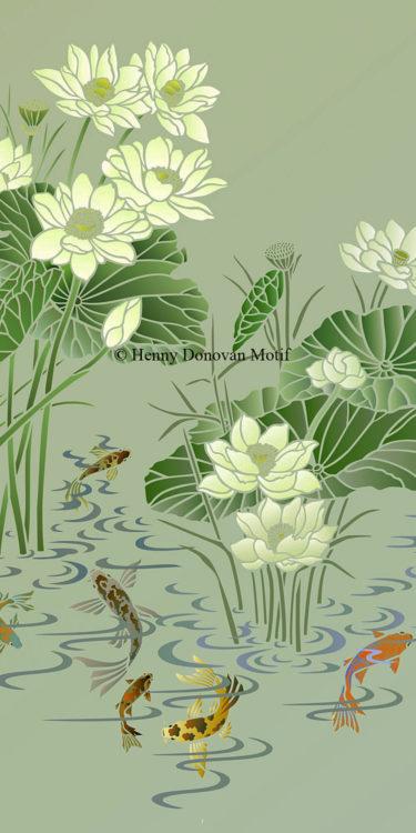 Lotus-Stencil-1-copyright-Henny-Donovan-Motif-G10