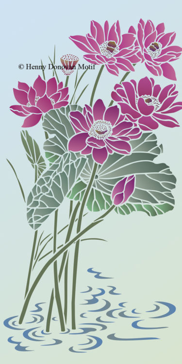 Lotus-Stencil-1-copyright-Henny-Donovan-Motif-G5