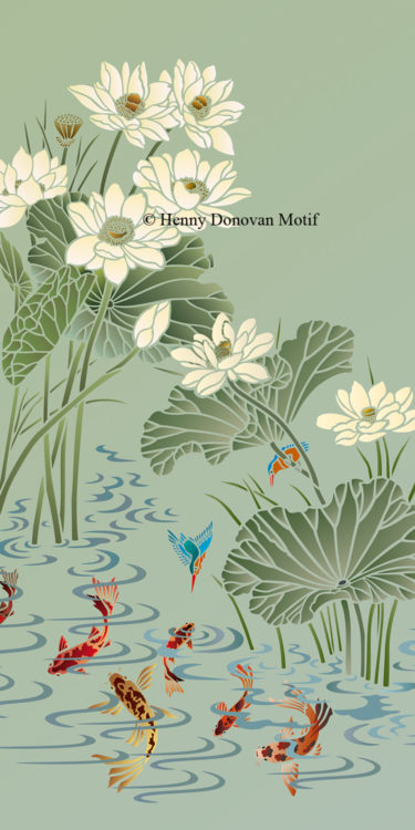Lotus-Stencil-1-copyright-Henny-Donovan-Motif-G7