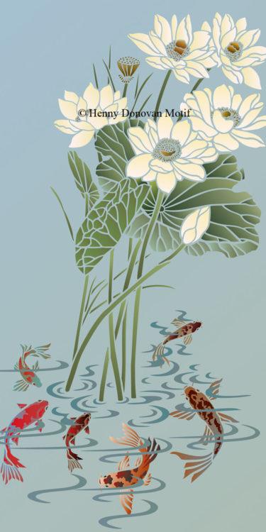 Lotus-Stencil-1-copyright-Henny-Donovan-Motif-G9