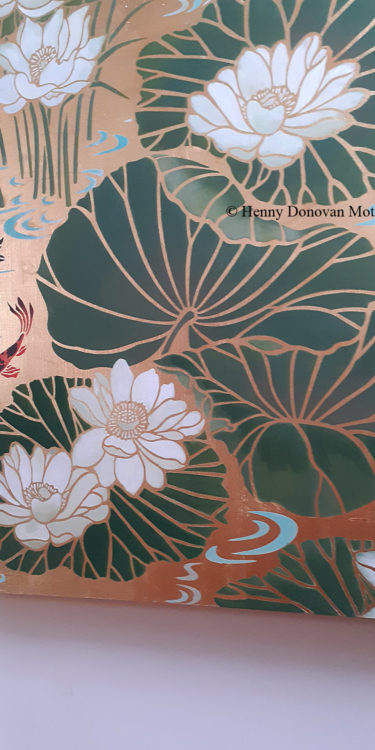 Lotus-Waterlily-Stencil-4-copyright-Henny-Donovan-Motif-P1